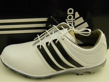 NEW - ADIDAS GOLF 2015 PURE 360 LTD GOLF SHOES WHITE/BLACK/SILVER WIDE WIDTH