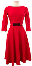 Stop Staring! Red 50's Bow Swing- NWT Pinup, Retro, Rockabilly