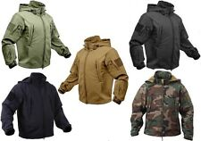 Military Police Special OPS Tactical Soft Shell Jacket With Waterproof Shell