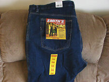 Smith's Men's Relaxed Fit Fleece Lined Jeans Sizes 44x30 44x32 46x30 46x32 48x30