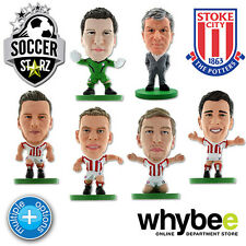 STOKE CITY FC SOCCERSTARZ FOOTBALL FIGURES - OFFICIAL POTTERS SOCCER STARZ NEW