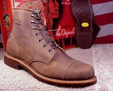 Chippewa Men's Iron Miner Heritage USA Made Crazyhorse Leather Boots 1901M33