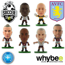 ASTON VILLA FC SOCCERSTARZ FOOTBALL FIGURES - OFFICIAL THE VILLANS SOCCER STARZ