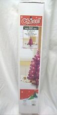 CHEER PRE LIT PINK TINSEL TREE 2 FEET TREE STAND INCLUDED FOR INDOOR USE NEW IB