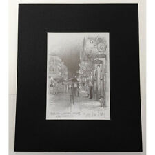 "10.5""x8.75"" New Orleans Louisiana Matted Prints Ready to Frame Wall Decor"