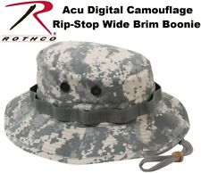Acu Digital Camouflage Military Tactical Rip-Stop W/Brim Bucket Boonie Hat 5869