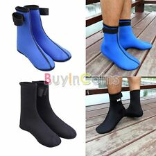 2 Colors Neoprene Thick Beach Swimming Diving Surfing Socks Booties S-XXL Soft