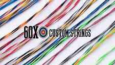 Mathews Ovation Bow String & Cable Set Choice of Colors 60X Custom Strings