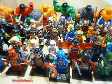 Minis Figurines au choix, SUPER HEROS, DRAGON BALL Z, TORTUES NINJA, STAR WARS
