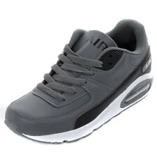 Mens Intercept  Air Max 90 Grey Running Trainers Sports Shoes Size
