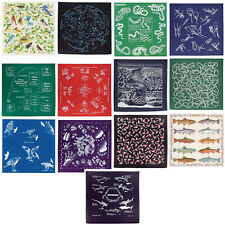 The Printed Image Nature Facts Bandana - Great Detail, Full Color, High Quality