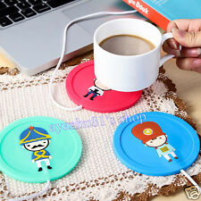5V USB Silicone Heat Warmer Heater Milk Tea Coffee Mug Hot Drinks Beverage Cup