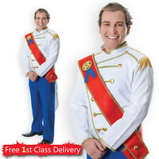 Adults Prince Charming Fancy Dress Costume Fairy Tale Medieval Prince Pantomime