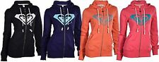 Roxy Juniors Bliss Roxy Heart Zip Up Hoodie