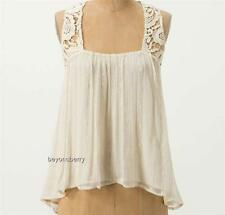 NEW Anthropologie Tt Collection Decadent Layers Shell  Size L