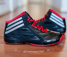 ADIDAS NEXT LEVEL SPEED 2 MENS BASKETBALL SHOES BLACK RED G98369
