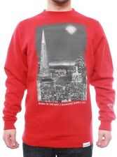 Diamond Supply Co | Born In The Bay PT.2 Crew  | Red | RRP £74.95