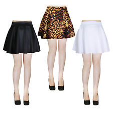 Sexy A-Line High Waist Flared Pleated Skater Mini Skirt - Made in USA