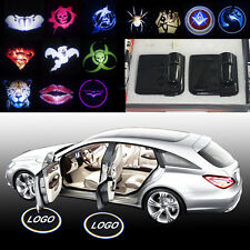 2x Magnetic car door curtesy LED projector welcome logo shadow ghost light lamp