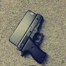 """Cool 3D Gun Hard Case Cover for 4.7"""" iPhone 6"""