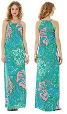 Lilly Pulitzer Franconia Circle Neck Maxi Dress-Multi Lilly Lounge $268 Size 2
