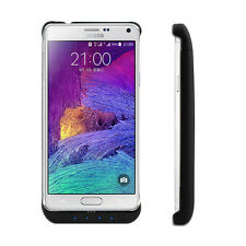 5500mAh External Battery Backup Charger Power Pack Case Fr Samsung Galaxy Note 4