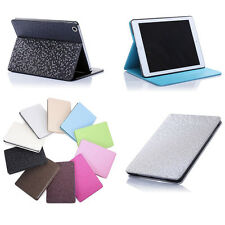 Diamond Grid Leather Skin Case Cover Protector Kickstand For Apple iPad 2 3 4 4G