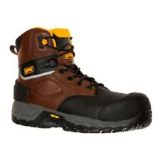 Magnum  Halifax 6.0 WP CT Waterproof Composite Toe Safety Work Boots Coffee