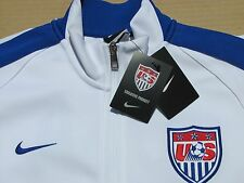 New Nike Men's N98 2014 FIFA World Cup USA Soccer Track Jacket White Size M & L
