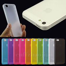 Translucent Frosted Ultra-thin Skin Case Cover for Apple iphone 5 4S 5S 5C