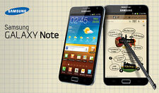 Original Unlocked Samsung Galaxy Note N7000 16GB 8MP 3G Android GSM Smartphone