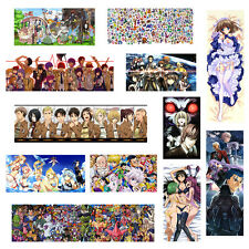 Greatest Anime TOP 60 Series Multi listing HQ Panorama Long Posters Print Poster