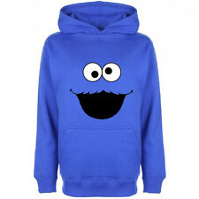 Cookie Monster Hoodie Hoody Sesame Street Funny