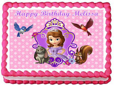 SOFIA THE FIRST Edible image Cake topper design