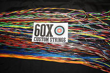 60X Custom Strings String and Cable Set for 2004 Bowtech Mighty Might VFT Bow