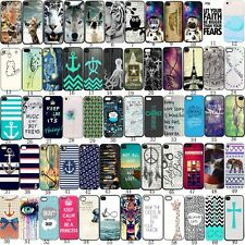 Fashion Pattern Hard Skin Case Cover Back Protector For i Phone 5s 5 4s 4 5C