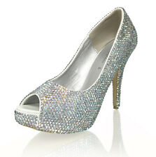 Marc Defang AB Crystals Essential Bridal Wedding Heels