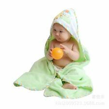 BRAND NEW BABY COTTON HOODED BATH TOWEL + FACE TOWEL