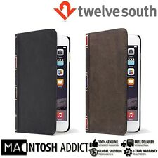 Twelve South BookBook 3-in-1 Leather Wallet Case for iPhone 6/6s BROWN / BLACK
