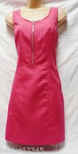 BNWT NEXT New Ladies Gorgeous Pink Tailored shift stars textured dress size 10