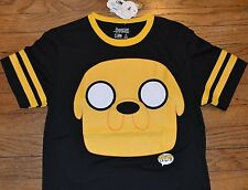 Adventure Time Finn & Jake JAKE  POP ART  Juniors Tee T-shirt Licensed