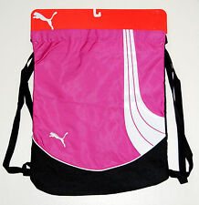 New Puma Raspberry Formation Gym Sack Pink Drawstring Bag FREE SHIPPING!