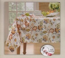 New with tags! Colordrift Jacobean Ivory Floral Tablecloths - Assorted Sizes!