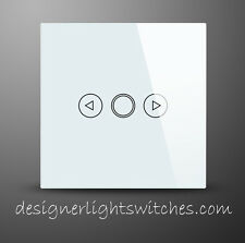 Designer Glass Touch Light Switch/Switches 1 Gang 1 Way Dimmer-UK Distributor14