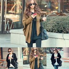 Fashion Women Ladies Batwing Cape Poncho Knit Top Cardigan Sweater Coat Outwear