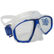 Scuba Blue Dive Mask Nearsighted Prescription RX Optical Corrective Lenses