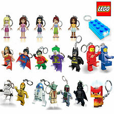 OFFICIAL LEGO KEY CHAIN LIGHT LED KEYRING TORCH DC COMICS STAR WARS LEGO FRIENDS