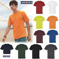 Jerzees Mens SPORT, 100% Polyester with Moisture-Wicking T-Shirt 21M S-3XL
