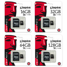 Kingston 16/32/64/128GB Micro SD SDHC/SDXC Class 10 TF UHS-I Karte SPEICHERKARTE