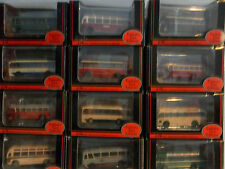 EXCLUSIVE FIRST EDITIONS. DIE CAST MODEL BUS'S . 1.76 SCALE. BRITISH BUS , NEW .